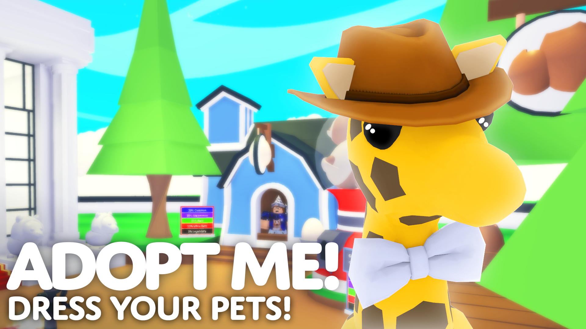 Dress Your Pets in Adopt Me!