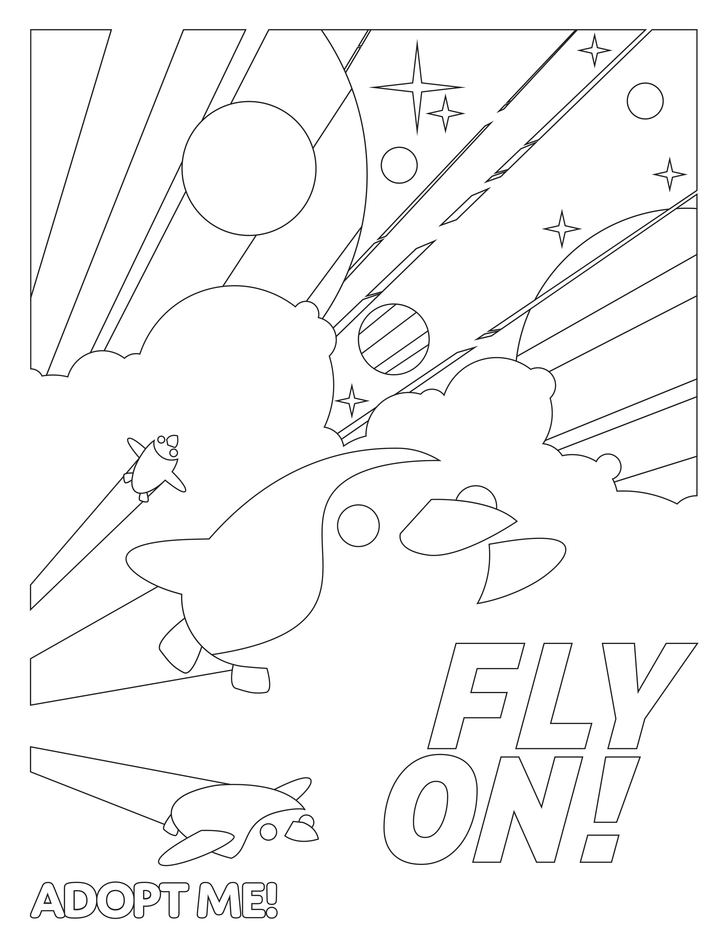 ColorAdoptMe Fly On!
