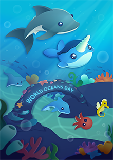 World Oceans Day A4!